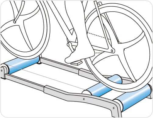 【運動消閒】專業工具:滾筒訓練台 戶外車室內踩