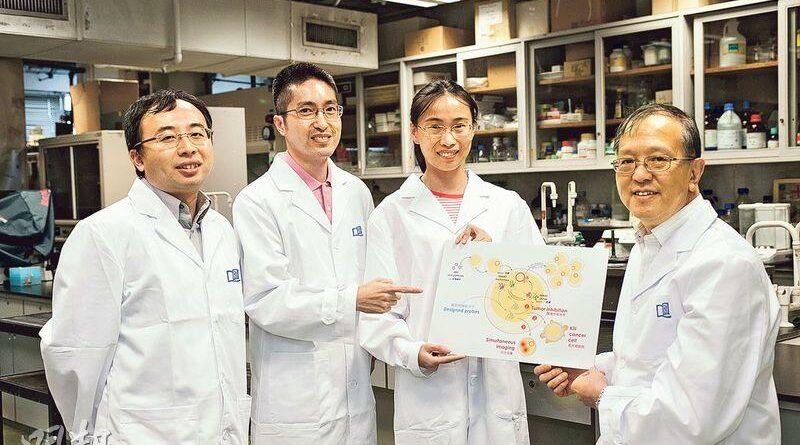 浸大研新化合物抑制腫瘤 有效阻擴散 治鼻咽癌新希望