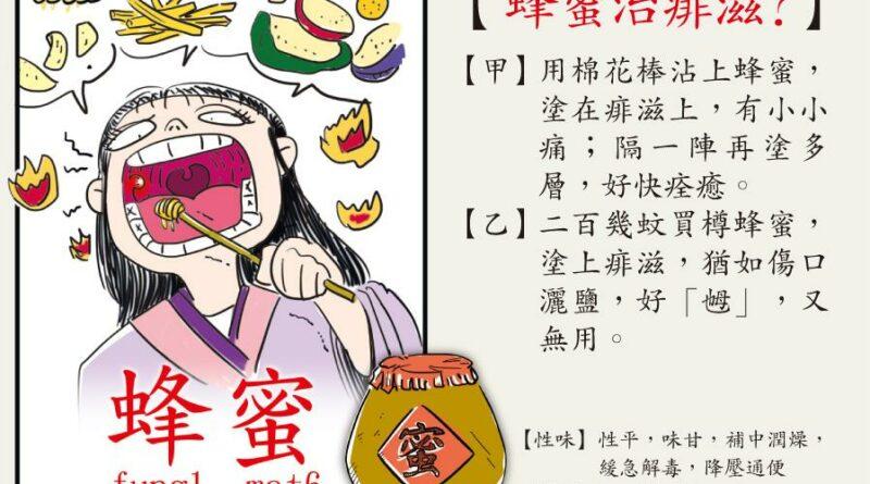 【中醫治療】熱氣痱滋靠蜂蜜撲火 愈痛愈燥 不痛較難痊癒