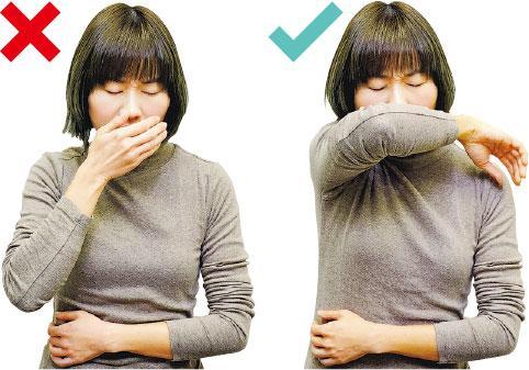 知多啲:掩口咳 用袖不用手