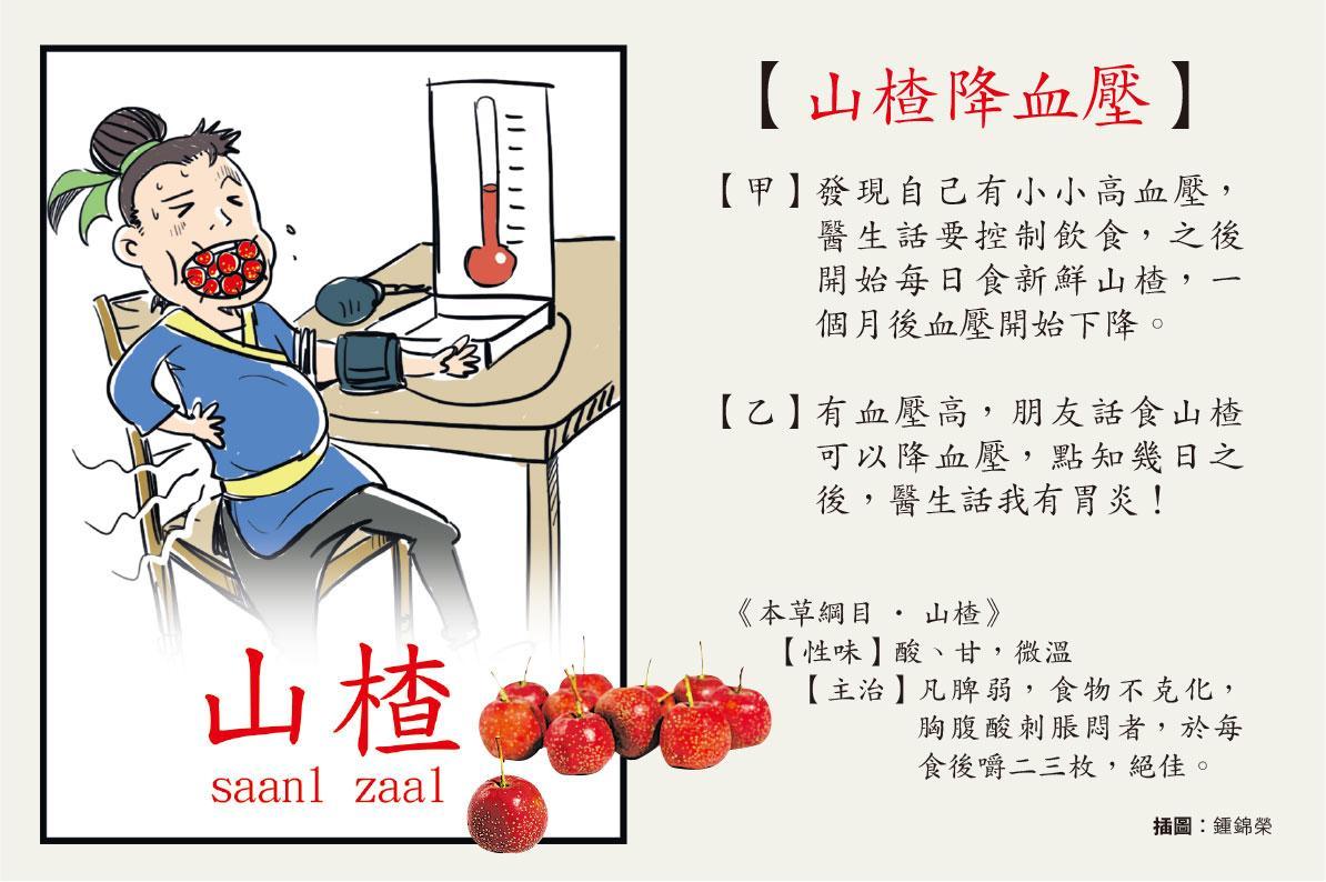 【中醫治療】山楂降血壓血脂 胃弱糖尿病勿試