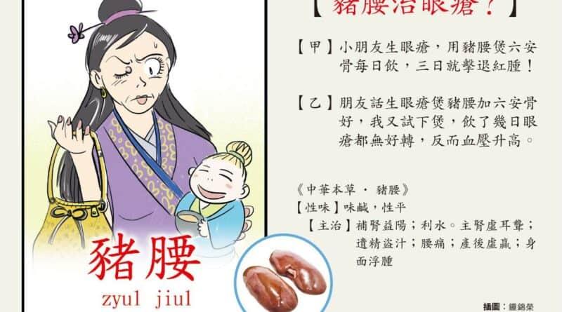【中醫治療】豬腰煲茶葉治眼瘡 小孩啱飲 成人血壓高不宜