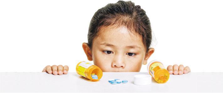 用藥減ADHD孩子受傷風險 長效藥穩定 降低不適感