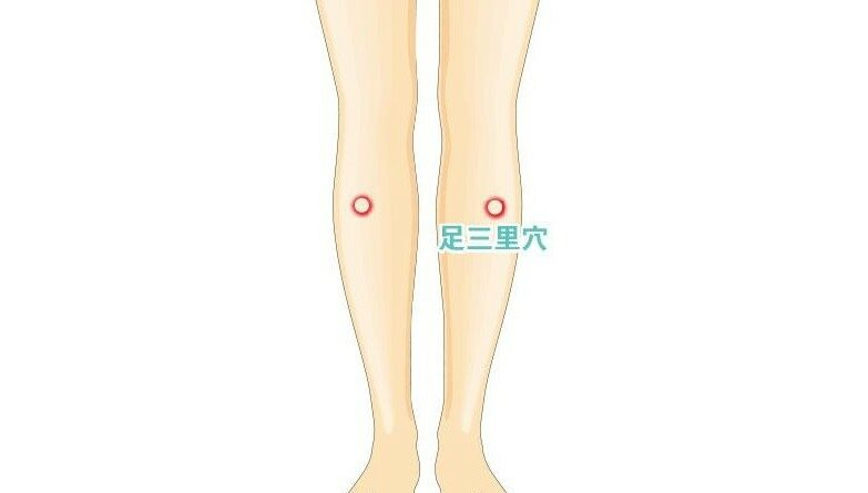 【中醫治療】養陽氣 艾灸按壓足三里