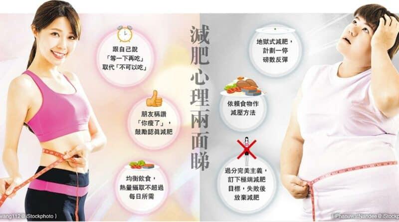 【健康減肥】減肥心理兩面睇 減肥心理戰 「你瘦咗喎」真係會瘦?