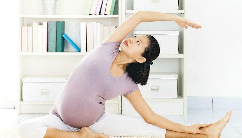 一周5次30分鐘 練腰腹肌力 孕婦運動分娩更輕鬆
