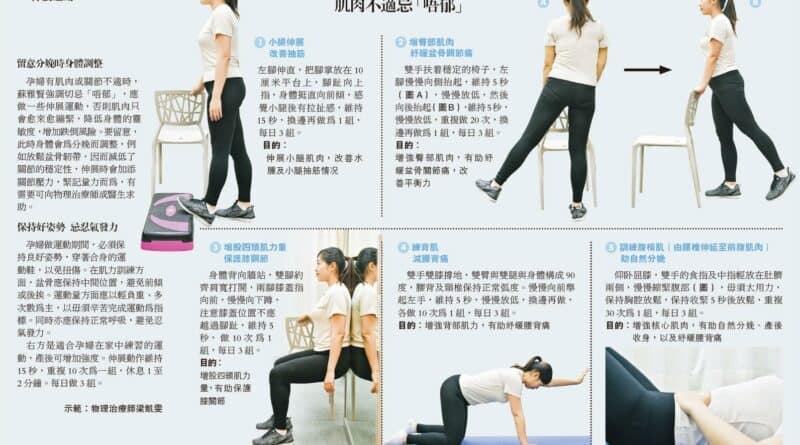【運動消閒】伸展運動:肌肉不適忌「唔郁」
