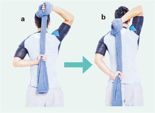 五十肩, 毛巾操, 物理治療, 肩周炎