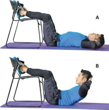 【運動消閒】好Zone動:椅子Sit-up操腹肌 不怕腰背痛