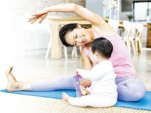 產後運動, 紮肚收身,