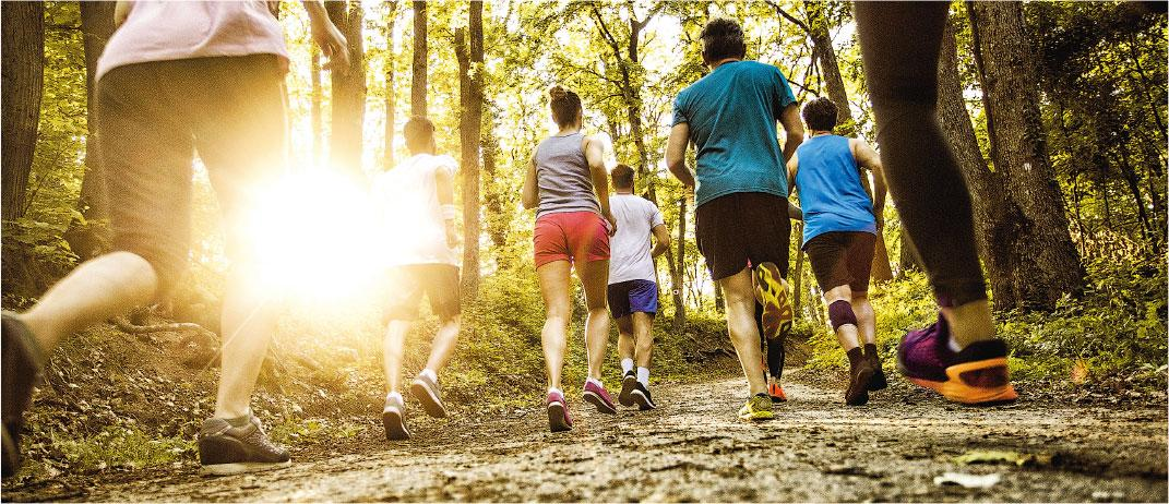 運動消閒; 長跑; 馬拉松; 毅行者; 慢性軟組織損傷