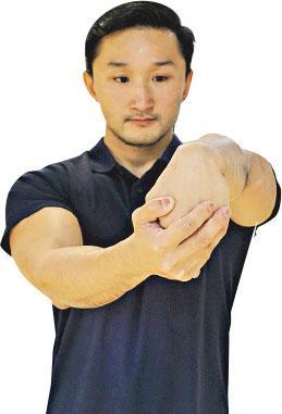 姿治通鑑:冷敷伸展 紓緩手肘痛