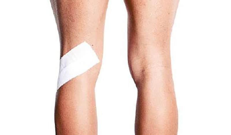 膝痛,行山,膝關節痛,運動貼帶,