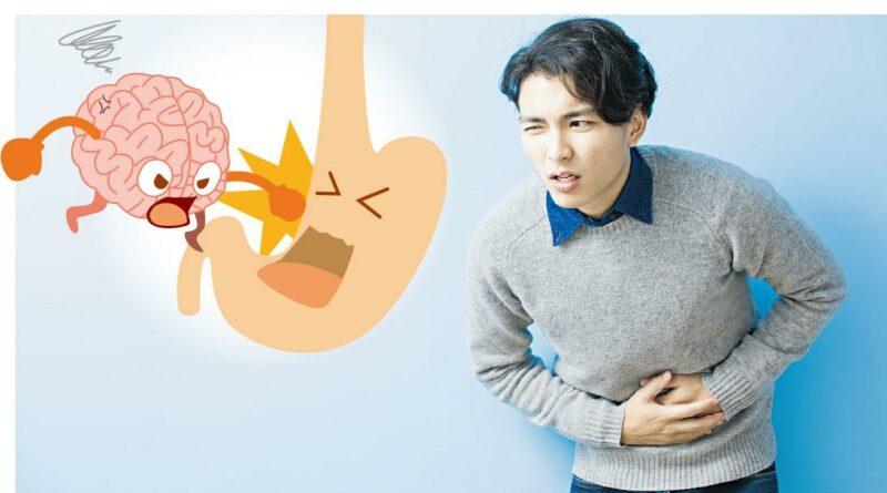 中大最新研究 - 抑鬱藥治胃病 胃部如「小腦袋」 情緒壓抑可致胃痛