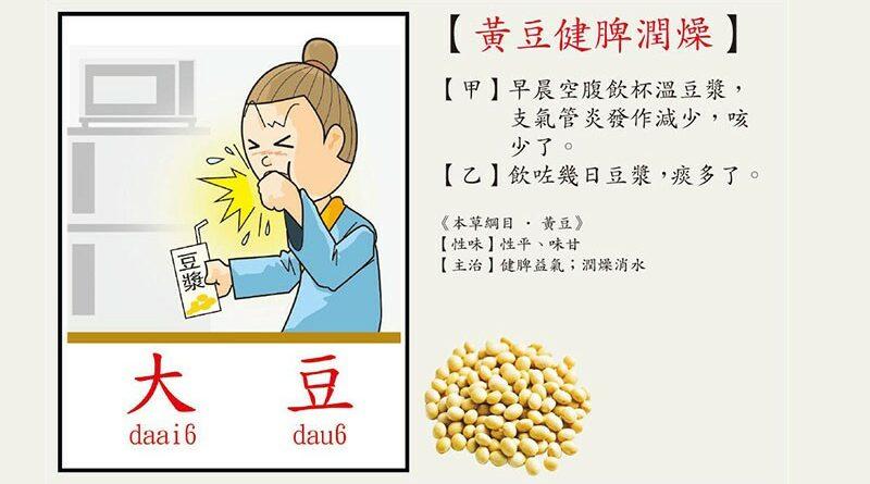 【營養要識】豆漿潤肺止咳?惹痰咳多聲就真