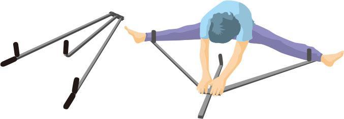 拉筋助放鬆肌肉、改善平衡、糾正姿勢 應量力而為 亂用神器可致骨折