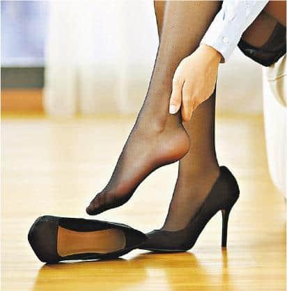 知多啲:鞋跟高1吋 寬緊適中
