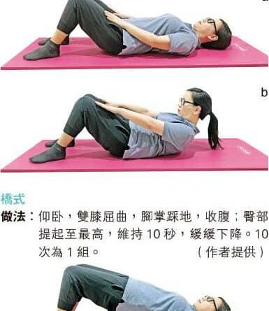 【運動消閒】簡單4式訓練核心肌