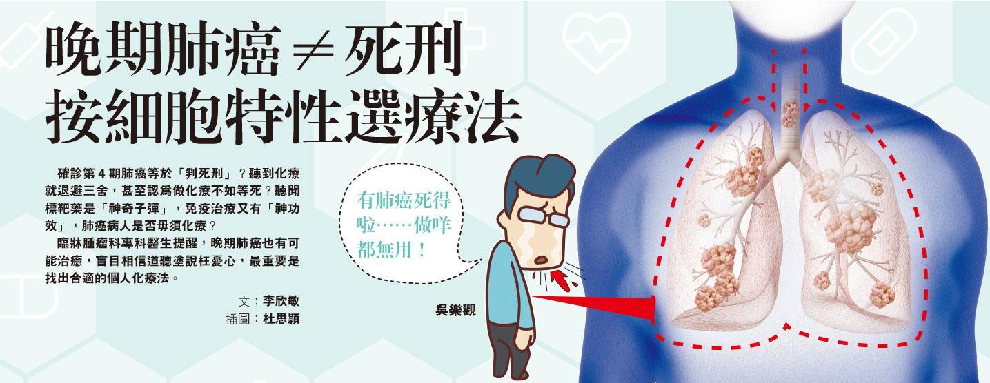 肺癌 曾偉光 鄭志文 腫瘤科 化療 標靶治療 免疫治療
