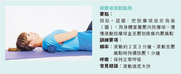 好Zone動:滾動按摩球 管理肩頸痛