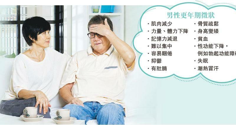 【男性健康】失眠潮熱現肚腩 男士都有更年期