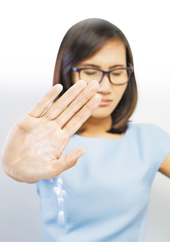 手汗,多汗症,中醫治療