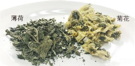 薄荷菊花茶