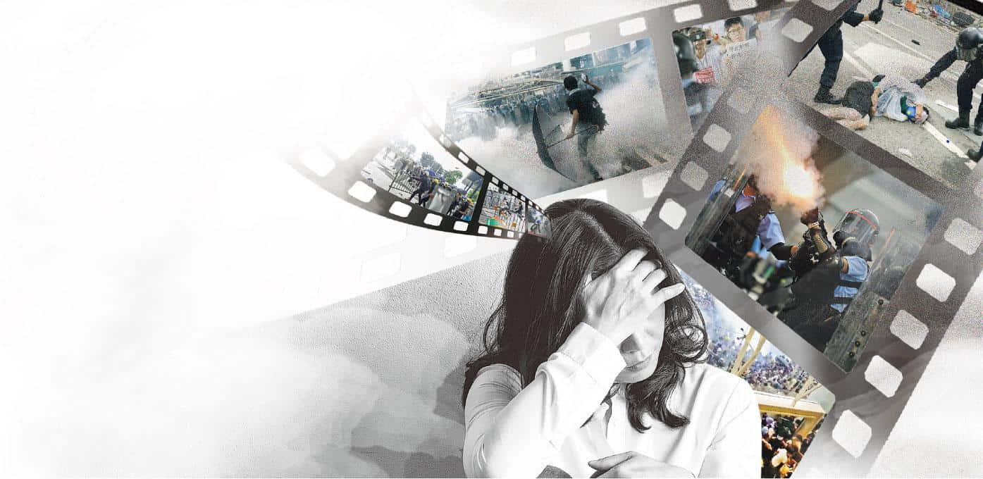 【精神健康】知多啲:看元朗打人報道 驚恐患者無法上班