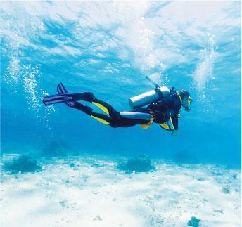 肺腑之言:有呼吸系統毛病 潛水風險大