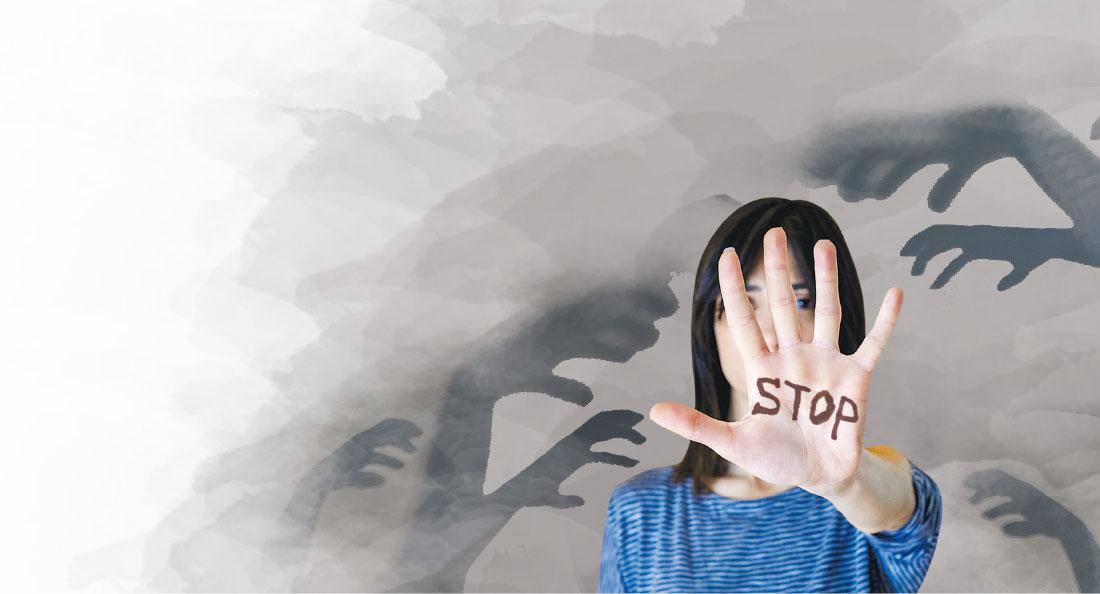 施暴者不分性別 眼神、觸碰同屬性暴力