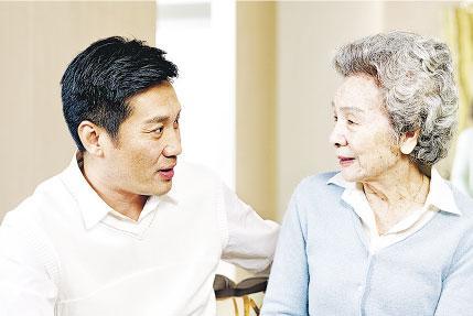 親密關係:男性護老者 苦在心裏口難開