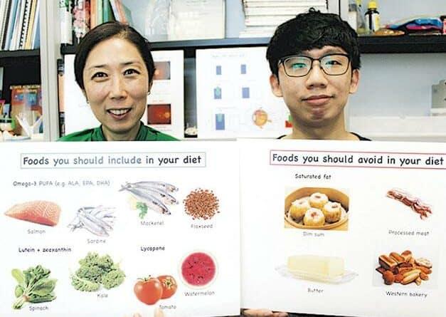 研究:多食紅肉少魚菜 增黃斑病變風險