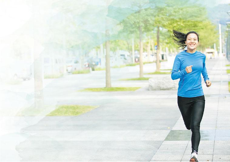 停止運動人易累 保持鍛煉益身心 打破環境限制 增肌強肺