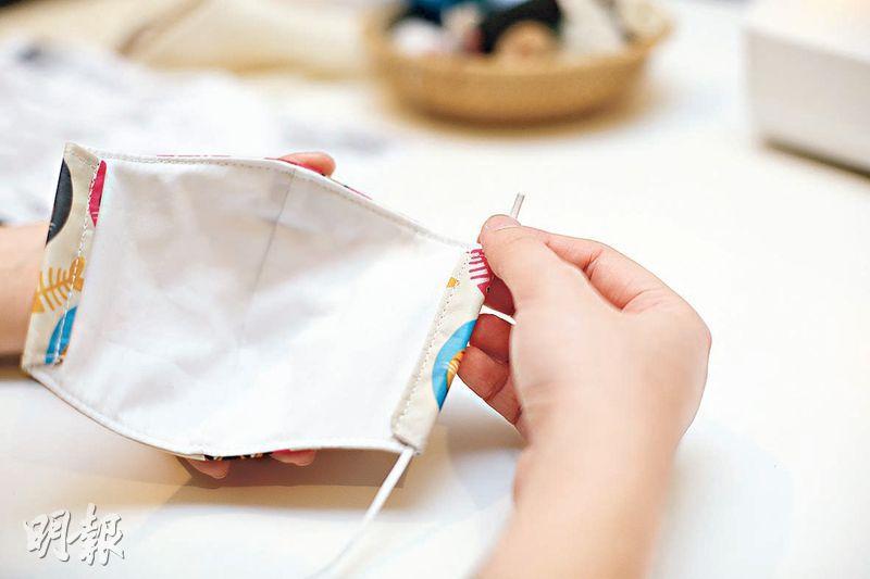 DIY:專家解構 3層物料特性 自製口罩 醒目選布增防護力