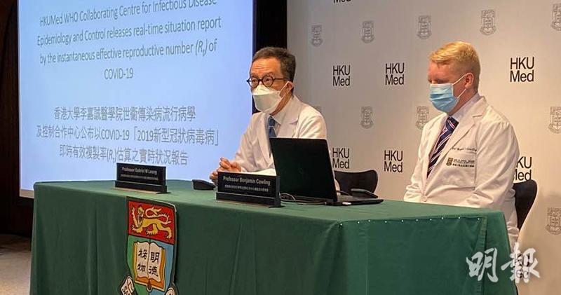 梁卓偉:患者可傳染多於一人 顯示本港或將有大型社區爆發