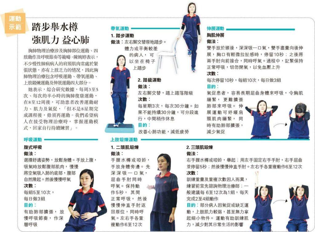 【家居運動】運動示範:踏步舉水樽 強肌力 益心肺