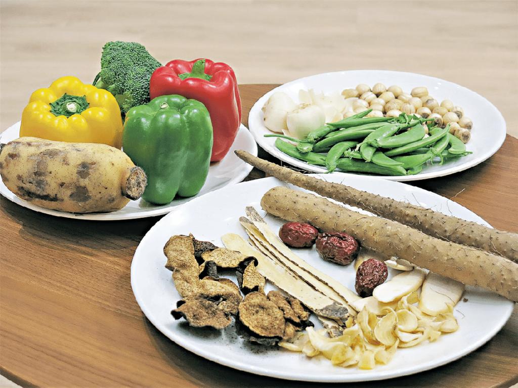 中藥食材經 和味配搭 性質平和宜長幼食用