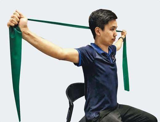 好zone動:一「舉」兩得 強化背肌伸展胸部