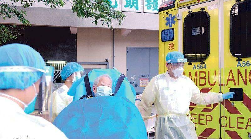袁國勇提13個安老院防疫目標   倡人均面積目標8平米