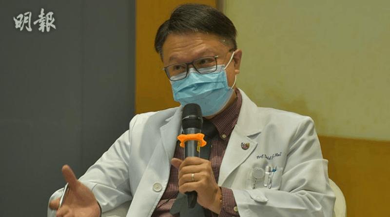 新冠肺炎|伊院42歲無長期病確診者死亡 許樹昌:曾出現氣喘 即病毒已入侵下呼吸道致肺炎及呼吸衰竭