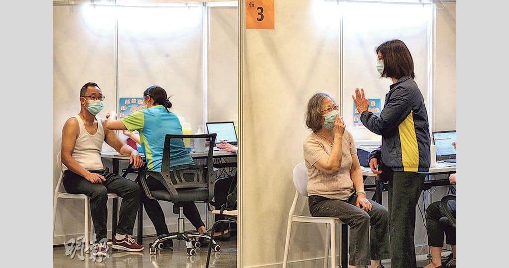 新冠疫苗接種計劃近一個月 共793宗異常事件 科興佔591宗 BioNTech復必泰佔202宗 9人面癱8涉科興