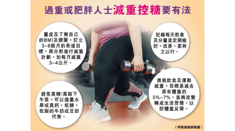 中央肥胖增糖尿病風險 營養師教你轉化白色脂肪為棕色脂肪(附減重控糖4大重點)