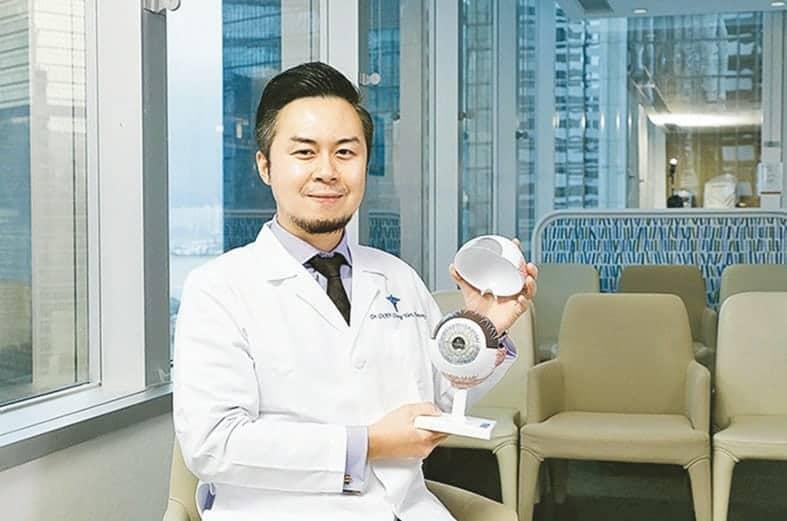 養和醫院.眼科,陳頌恩,醫生,板層角膜移植