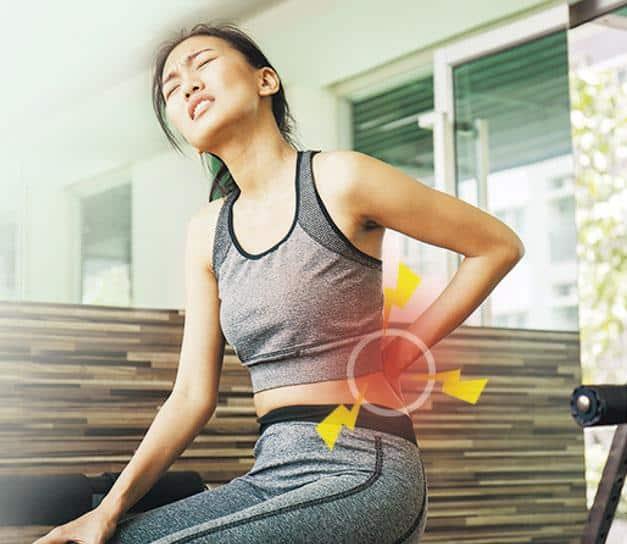 做完劇烈運動後,第二天肌肉痠痛,這情况稱為「延遲性肌肉痠痛」,3至5天後自會紓緩。(paulaphoto@iStockphoto)