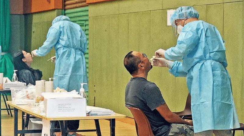 【強制檢測】今日起納入強檢人士必須以鼻腔和咽喉合併拭子採樣 5類人士注意 附社區檢測中心、流動採樣站等名單