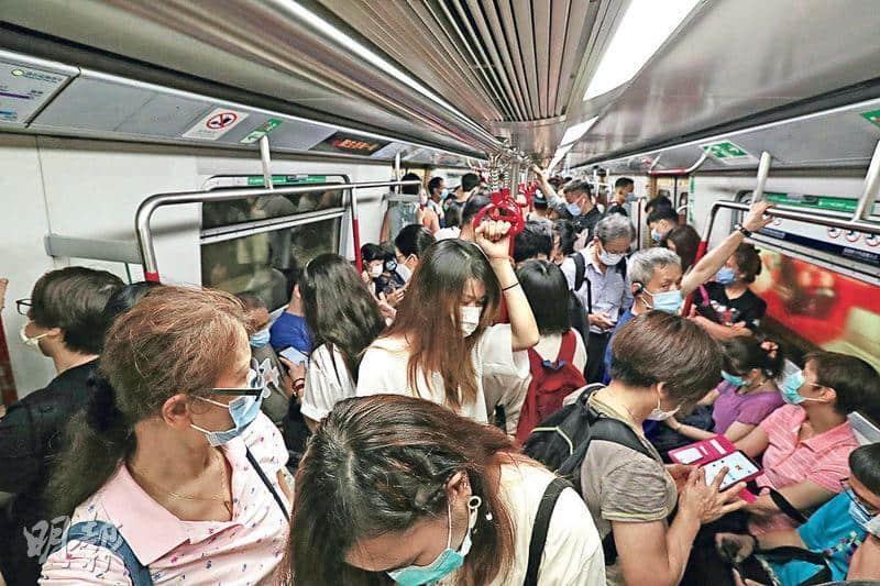 人口密集——香港人口密集,一旦有感染爆發,會迅速傳播。(資料圖片)
