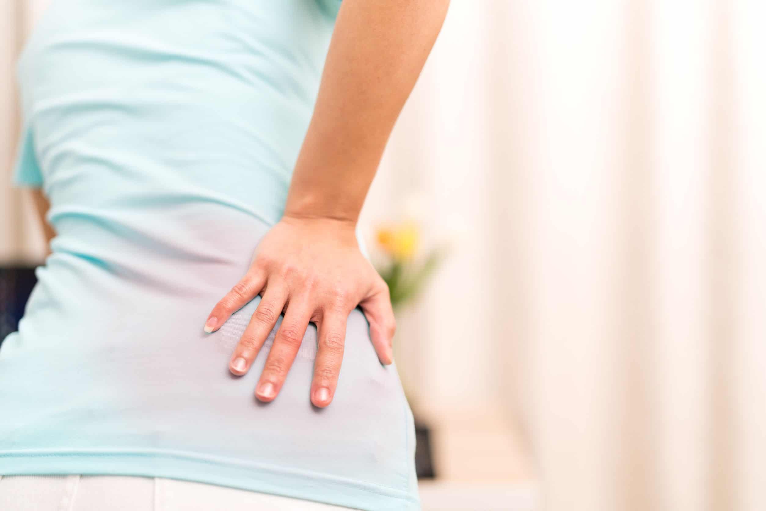 經常背痛,莫非有骨質疏鬆症?(網上圖片)